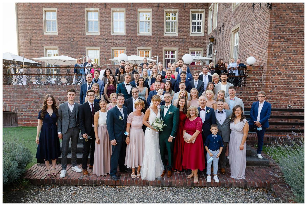 Gruppenfotos Schloss Diersfordt
