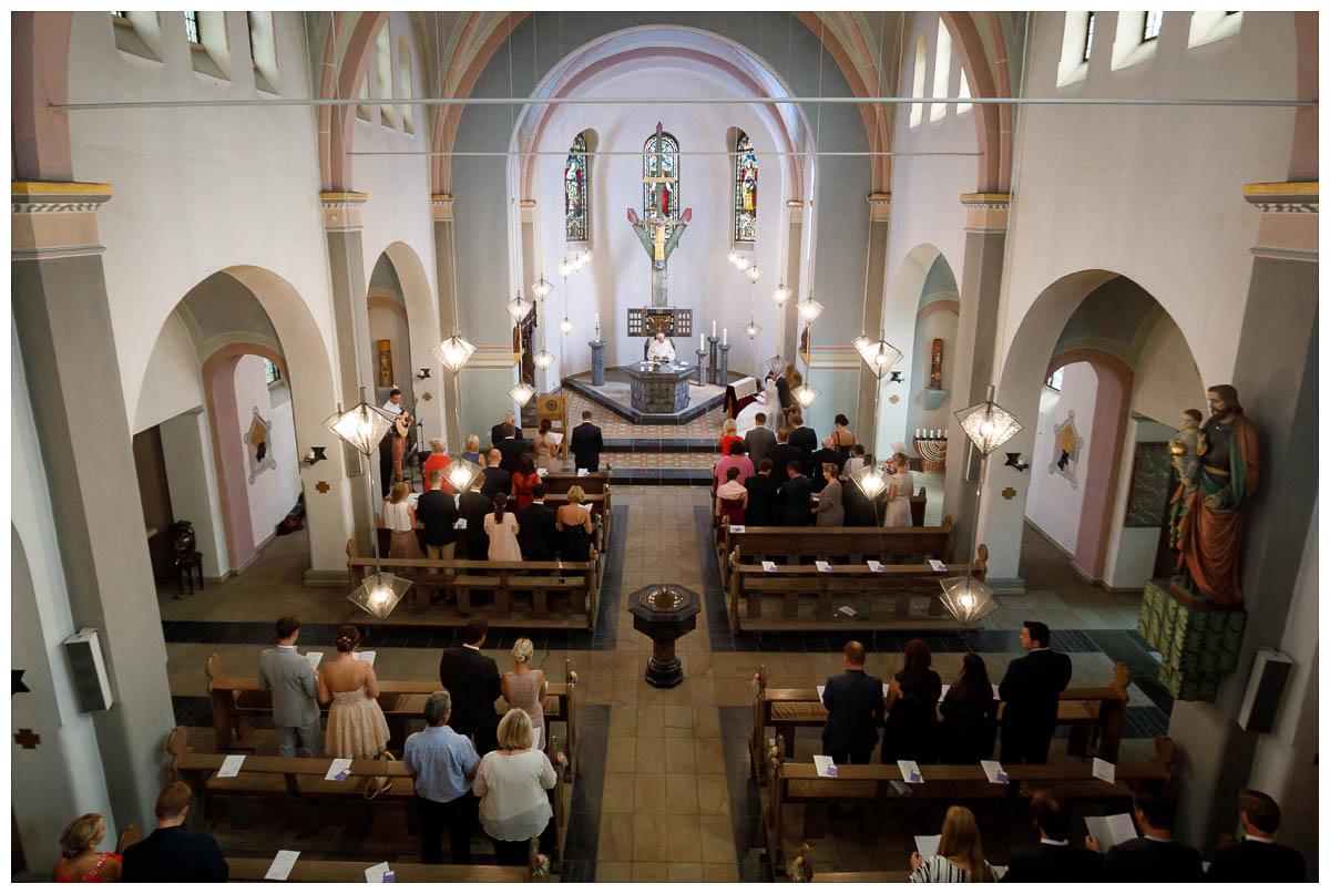 Hochzeit Kirche Trauung Grefrath St Josef