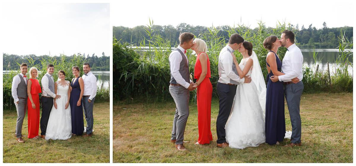 Gruppenfoto Hochzeit Krickenbecker See