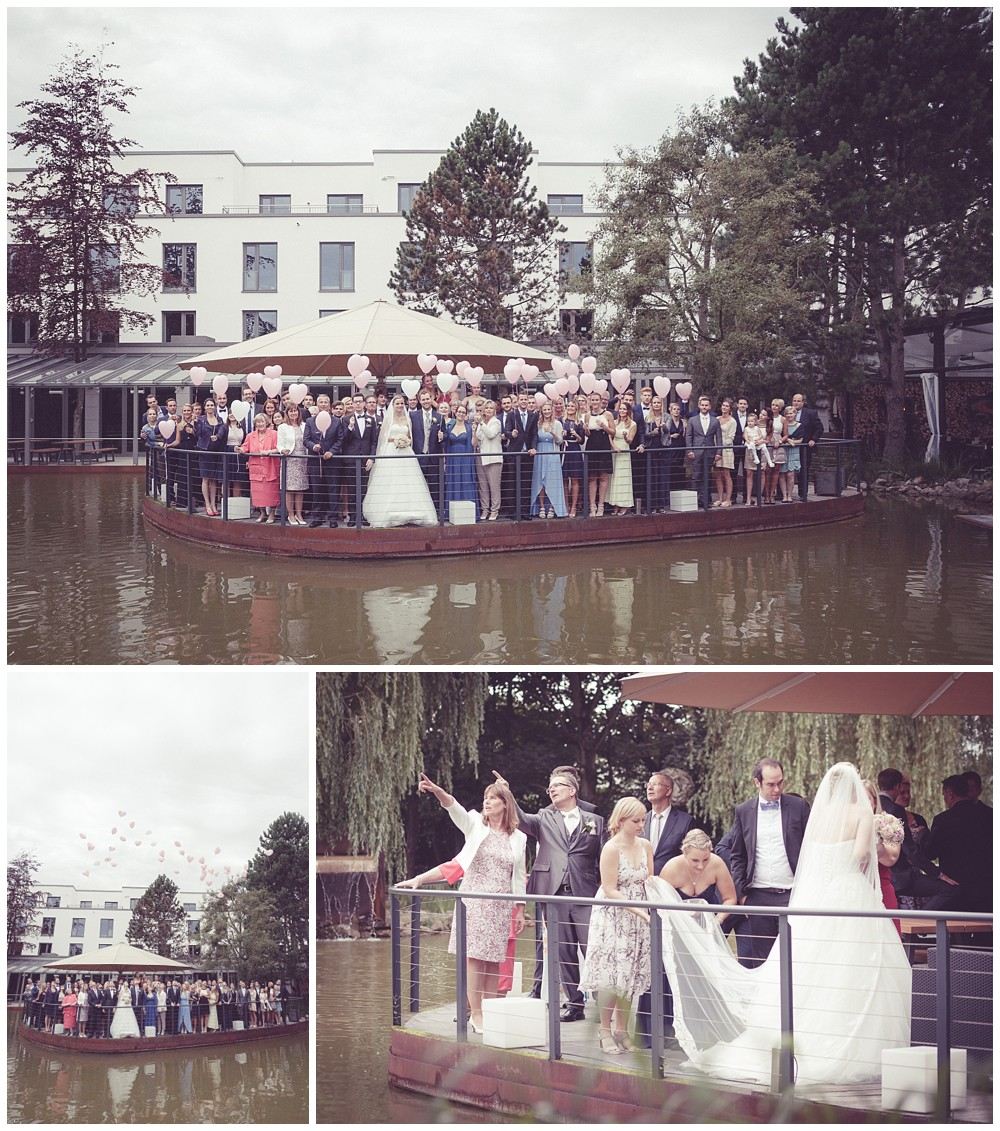 Hochzeitsparty Wellings Parkhotel