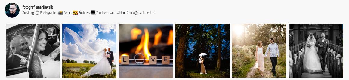 Instagram Martin Valk Hochzeitsfotograf