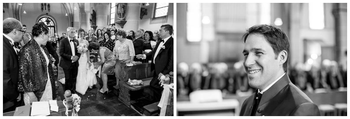 Katholische Hochzeit Kirche