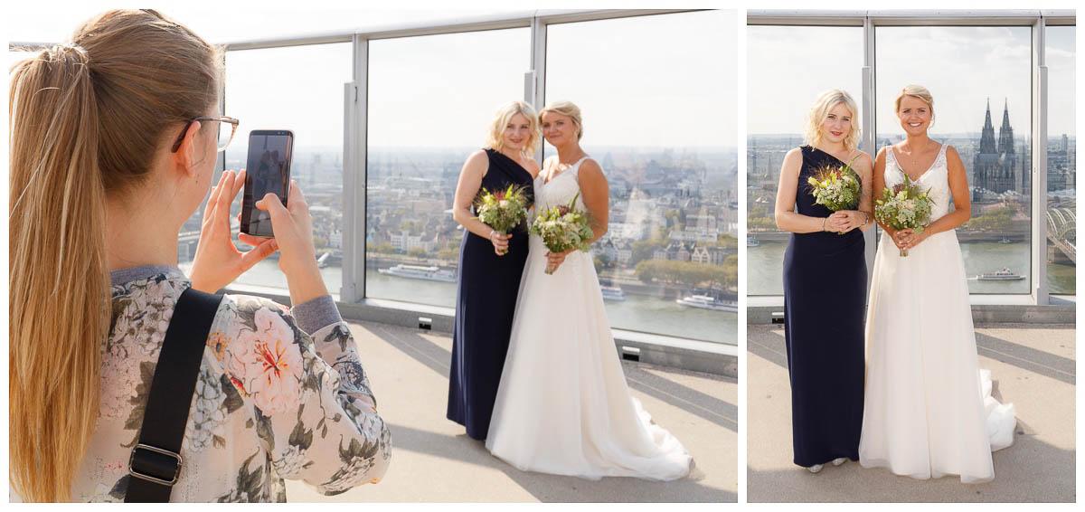 Gruppenfoto Hochzeit Köln