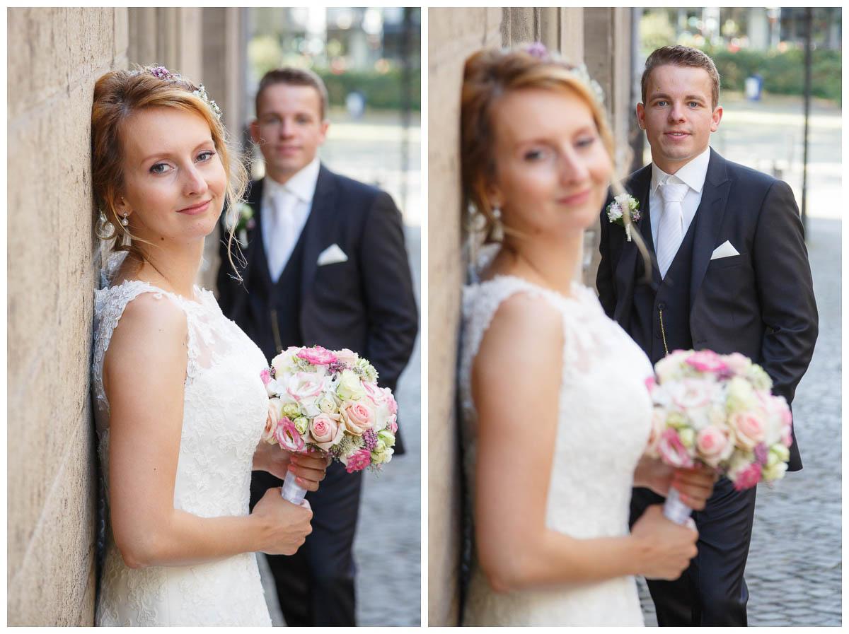 Fotoshooting Hochzeit Rathaus Duisburg